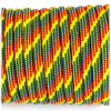 Paracord 550 rainbow rain #093