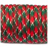 Paracord 550 red green camo #042