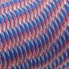 Paracord 550 red blue white camo #023