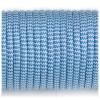 Paracord 550 blue white wave #131