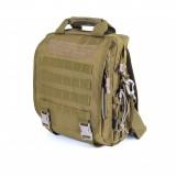 Messenger bag тактический D5-2022, wolf brown, 10 л