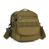 Тактическая сумка почтальон D5-1020, wolf brown