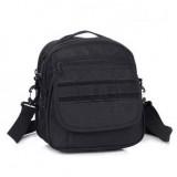 Тактическая сумка почтальон D5-1020, black