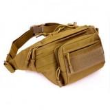 Тактическая поясная сумка D5-1108, wolf brown