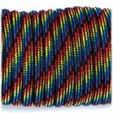 Paracord 550 black rainbow camo #064
