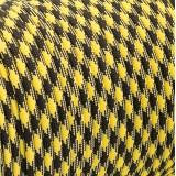 Paracord 550 black yellow camo #043