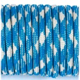 Paracord 550 blue white #074