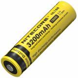 Аккумулятор литиевый Li-Ion 18650 Nitecore NL188 3.7V (3100mAh), защищенный