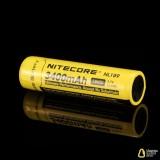 Аккумулятор литиевый Li-Ion 18650 Nitecore NL189 3.7V (3400mAh), защищенный