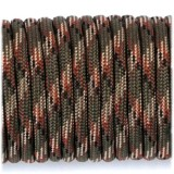 Paracord 550 army green camo #004