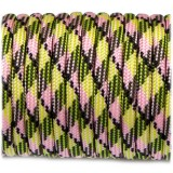 Paracord 550 fluor green+pink #054