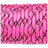 Paracord 550 bright pink camo #057