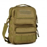 Тактическая плечевая сумка D5-K302, wolf brown
