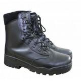 Тактические мужские ботинки MIL-TEC TACTICAL STIEFEL LEDER Black
