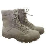 Тактические мужские ботинки MIL-TEC TACTICAL BOOT ZIPPER YKK Khaki