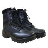 Тактические мужские ботинки MIL-TEC TACTICAL BOOT ZIPPER YKK Black