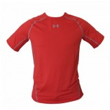 Компрессионная Футболка Under Armour HeatGear Armour Short Sleeve Compression Shirt Red