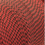 Paracord 550 red black camo #031