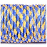 Paracord 550 blue&yellow #212