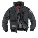 Куртка с капюшоном Dobermans Aggressive Nord Division v2 Black