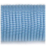Paracord 550 blue white wave #131
