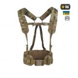 M-TAC Тактический ремень с плечевыми ремнями SCOUT GEN.2 MULTICAM