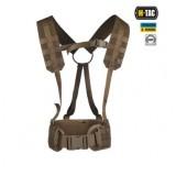 M-TAC Тактический ремень с плечевыми ремнями SCOUT CB