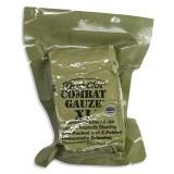 QUIKCLOT Кровоостанавливающий бинт COMBAT GAUZE XL Z-FOLD 10,2СМ/3,7М