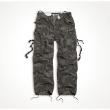 Брюки SURPLUS VINTAGE FATIGUES TROUSERS Black camo