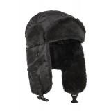 Шапка-ушанка лёгная зимняя N3B Аляска Crew Black