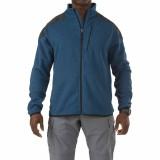 Куртка тактическая флисовая 5.11 Tactical Full Zip Sweater Regatta