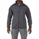 Куртка тактическая флисовая 5.11 Tactical Full Zip Sweater Gun powder