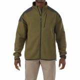 Куртка тактическая флисовая 5.11 Tactical Full Zip Sweater Field green