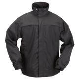 Куртка тактическая для штормовой погоды 5.11 Tactical TacDry Rain Shell Black