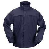 Куртка тактическая для штормовой погоды 5.11 Tactical TacDry Rain Shell Dark Navy