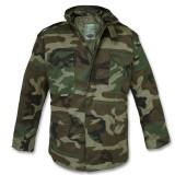 Куртка полевая демисезонная M65 Woodland