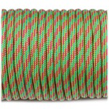 Paracord 550 crimson green camo #128