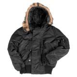 Куртка зимняя лётная N2B Аляска Black