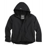 Куртка анорак SURPLUS ZIPPER WINDBREAKER Black