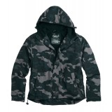 Куртка анорак SURPLUS ZIPPER WINDBREAKER Black Camo