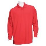 Футболка Поло тактическая с коротким рукавом 5.11 Tactical Professional Polo - Long Sleeve Red