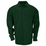 Футболка Поло тактическая с коротким рукавом 5.11 Tactical Professional Polo - Long Sleeve green