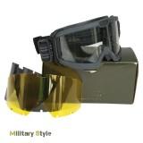 Очки тактические Brille ANSI EN 166 (Black