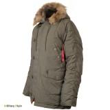 Куртка Аляска N3B - (Olive) - (0705-01)- (Chameleon)
