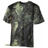 Камуфлированная футболка (Hunter green) - (Max Fuchs)