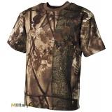 Камуфлированная футболка (Hunter brown) - (Max Fuchs)