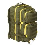 Рюкзак Brandit US Cooper large 2-color oliv-yellow