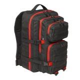Рюкзак Brandit US Cooper large 2-color black-red