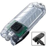 Фонарь Nitecore TUBE (1 LED, 45 люмен, 2 режима, USB), прозрачный