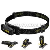 Фонарь многофункциональный, налобный Nitecore T360 (1 LED, 45 люмен, 6 режимов, USB)